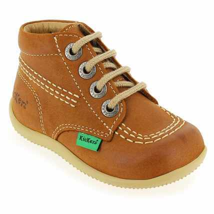 Chaussure Kickers modèle BILLY, camel