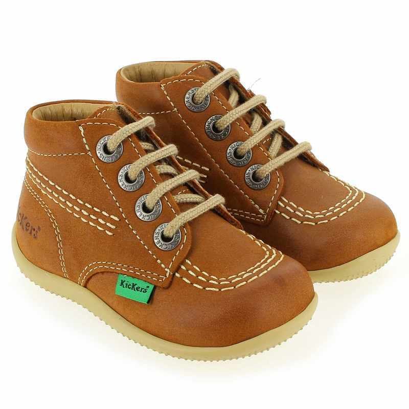 Chaussure Kickers BILLY Camel couleur camel - vue 6