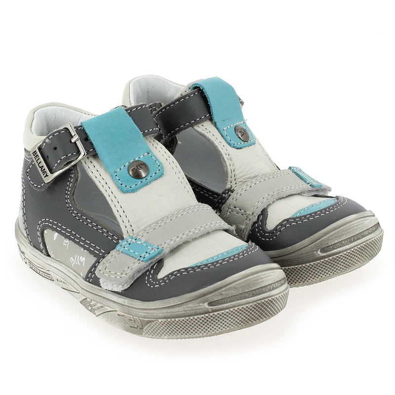 Chaussure Bellamy BAYA Gris couleur Gris Turquoise - vue 0