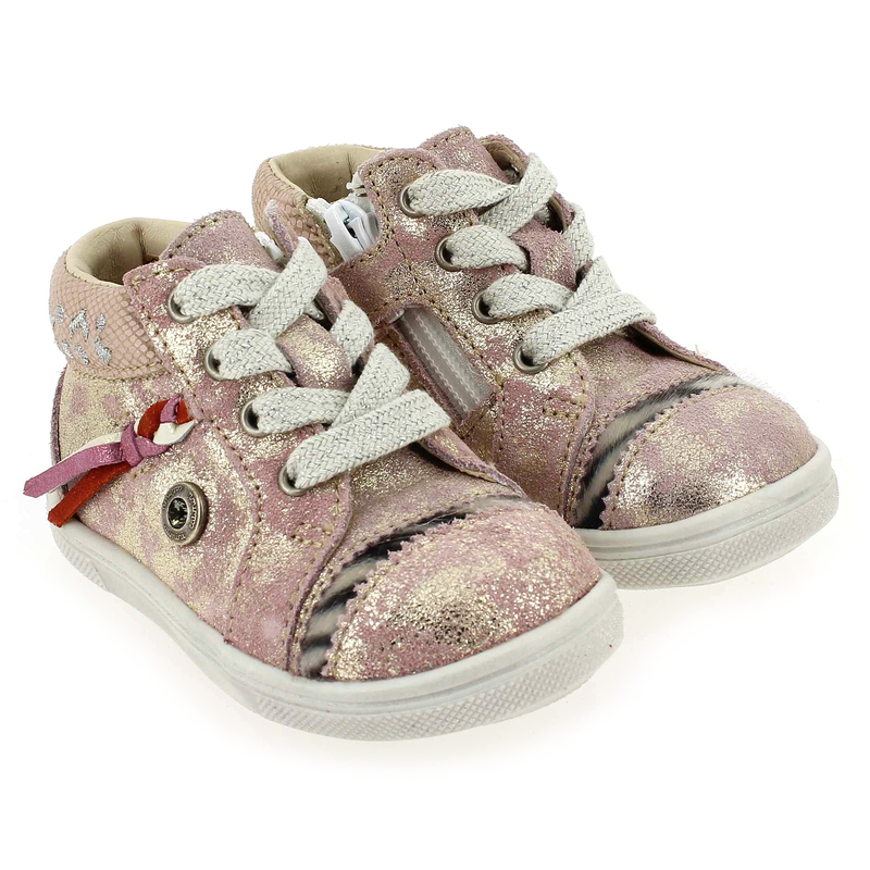 Chaussure Catimini COUCOU Rose couleur Rose Or - vue 6