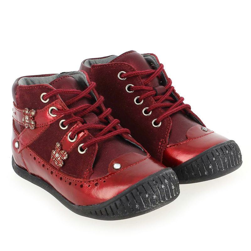 Chaussure Babybotte ALBANE Rouge couleur Rouge - vue 7