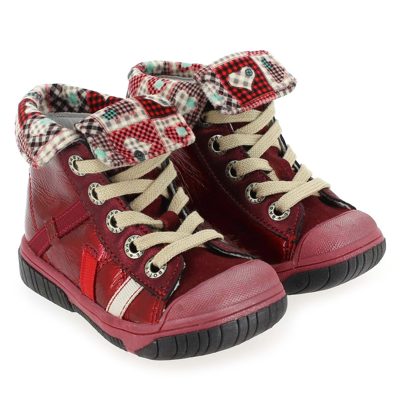 Chaussure Babybotte ARTISTE1 Rouge couleur Rouge - vue 0
