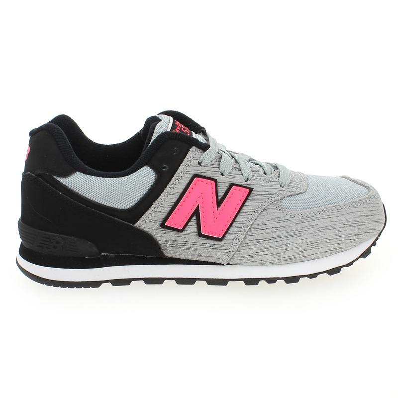 New Balance 574 Grise Et Rose