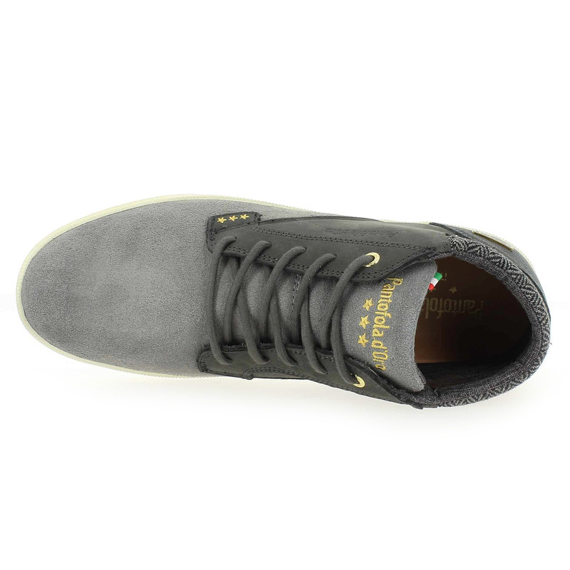 Pantofola D'oro Mid Chaussure Chaussures Misano Réf47553 01 Gris Pour Homme 4755301 DWEH9YI2