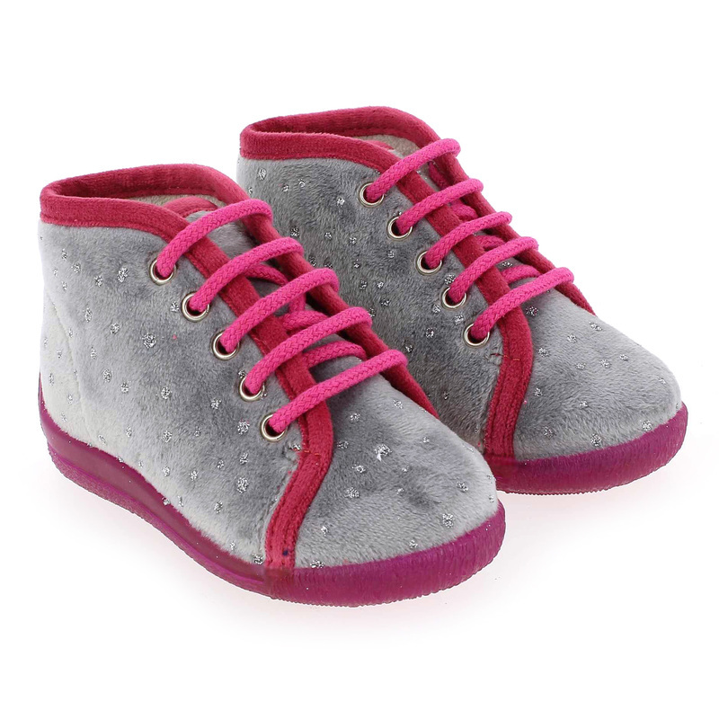 Chaussure Bellamy MAGIC Gris couleur Gris fuchsia - vue 0