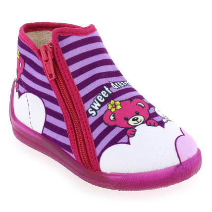 Chaussure Bellamy modèle MARLY, Violet Rose - vue 0