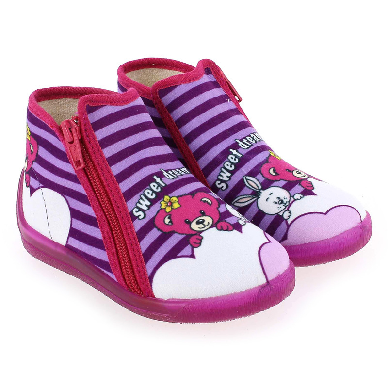 Chaussure Bellamy MARLY Violette couleur Violet Rose - vue 0