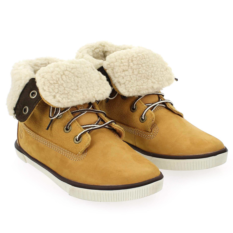 Chaussure Timberland DEERING FOLD Camel couleur Camel - vue 7