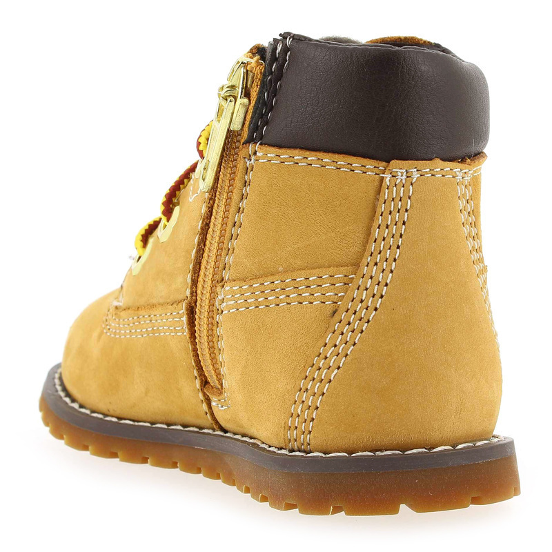 22b32b7d67021 6in Boot Beige Chaussure Pine Pour 4777801 Timberland Pokey Enfant qwtSAS