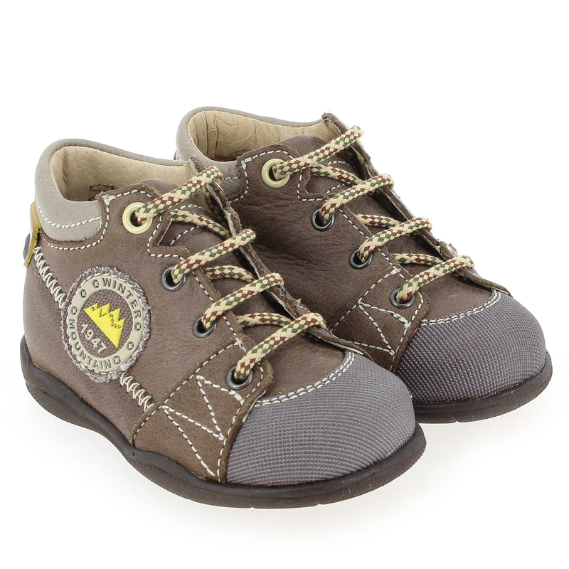 Chaussure Little Mary TEDDY Marron couleur Taupe Gris - vue 0