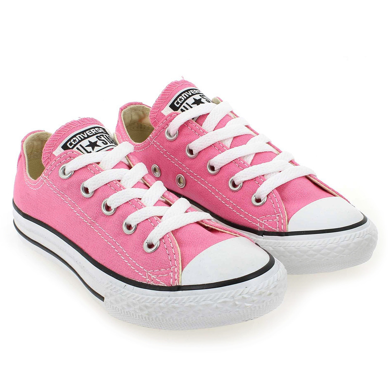 Chaussure Converse ALL STAR OX ENF rose couleur Rose - vue 0