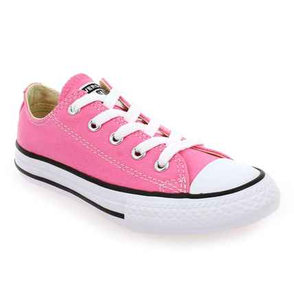 Chaussure Converse modèle ALL STAR OX ENF, Rose - vue 0