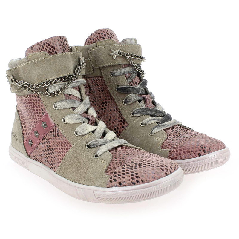 Chaussure Achile by GBB HEMIRE Rose couleur Rose Beige - vue 0
