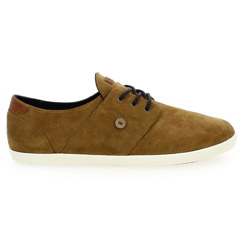 Chaussure Faguo CYPRESS SUEDE camel couleur Camel - vue 1