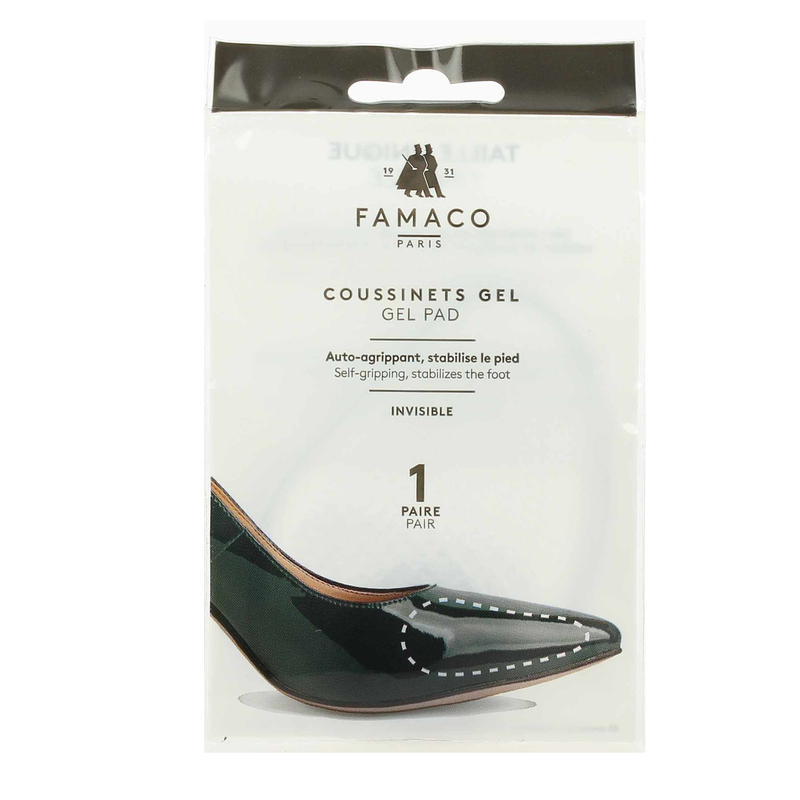 Semelle Famaco 4274901Jef Chaussures Gel Invisibles Coussinets WEY2IDH9