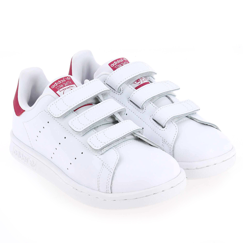 adidas stan smith femme blanc et rose