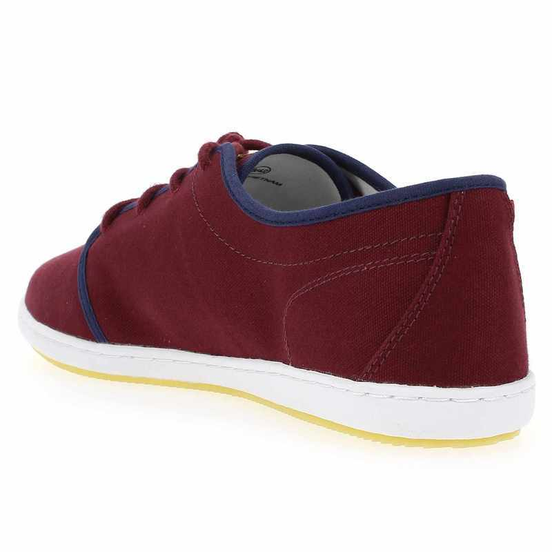 Chaussure Lafeyt DERBY BOUNDED CANVAS Rouge 4959202 pour Homme
