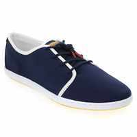 Chaussure Lafeyt modèle DERBY BOUNDED CANVAS, Marine - vue 0