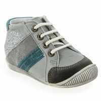 Chaussure GBB modèle MAURICE, Gris Turquoise - vue 0