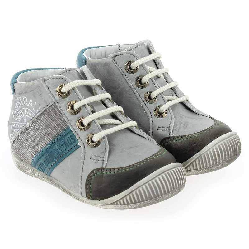 Chaussure GBB MAURICE gris couleur Gris Turquoise - vue 0