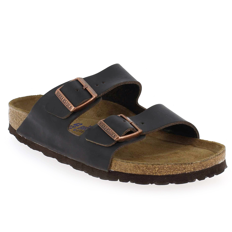 chaussure birkenstock arizona marron 4693303 pour homme jef chaussures. Black Bedroom Furniture Sets. Home Design Ideas