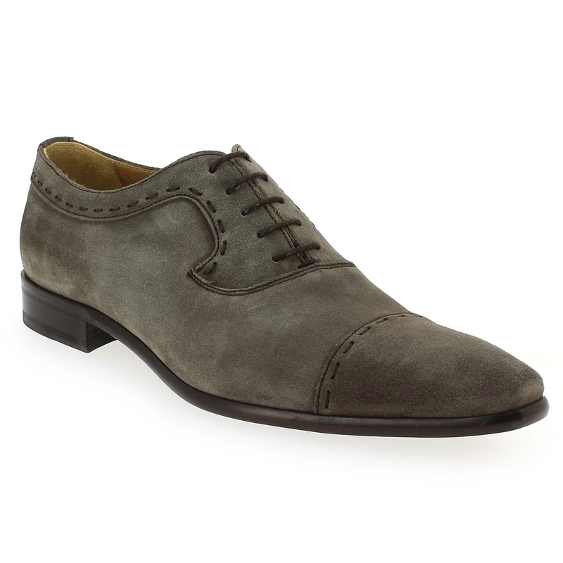 Chaussure Paco Milan 4023 204 Gris 4716603 pour Homme