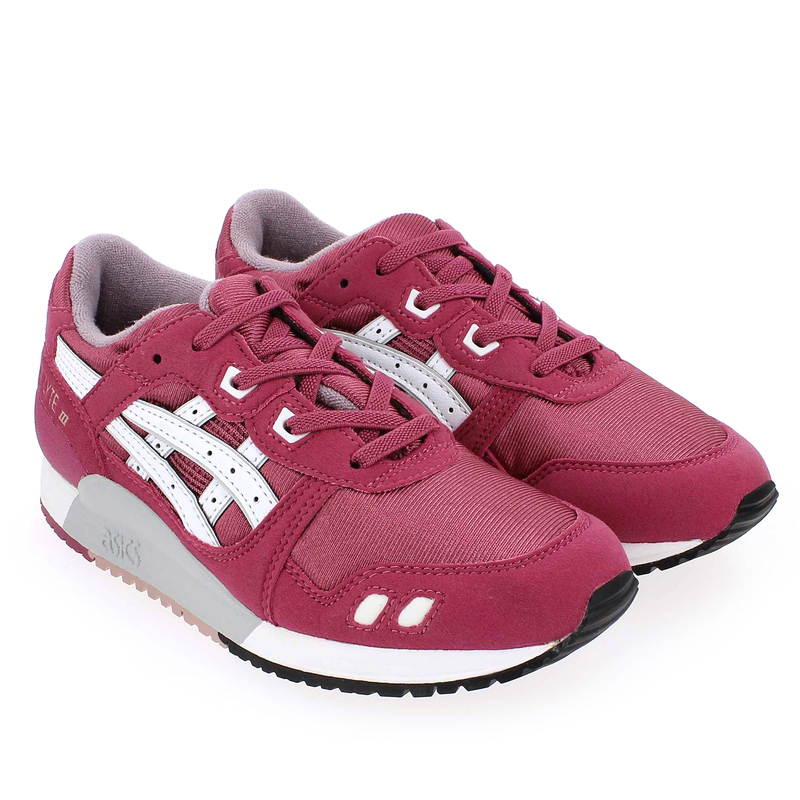 Chaussure Asics GEL LYTE 3 GS Rose couleur Rose - vue 8