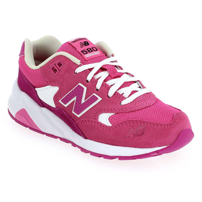 basket new balance rose