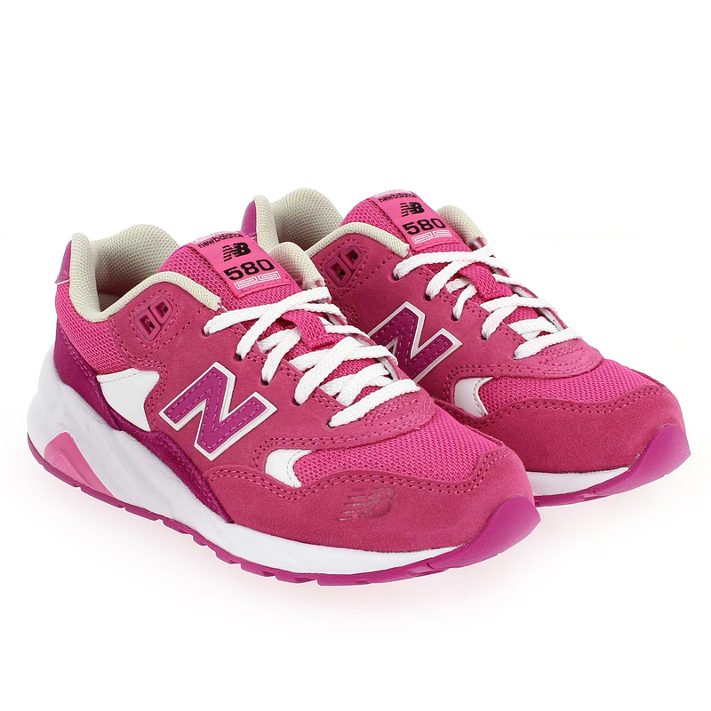 Chaussure New Balance KL 580 Rose couleur Rose - vue 0
