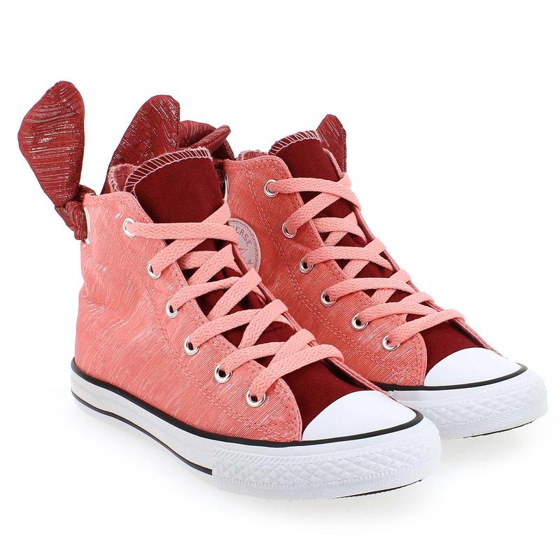 Chaussure Converse CT BOW BACK Rose couleur Rose - vue 6