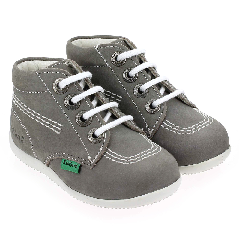 Chaussure Kickers BILLY E16 Gris couleur Gris - vue 6