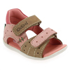 Chaussure Kickers modèle BOPPING, Beige Rose - vue 0