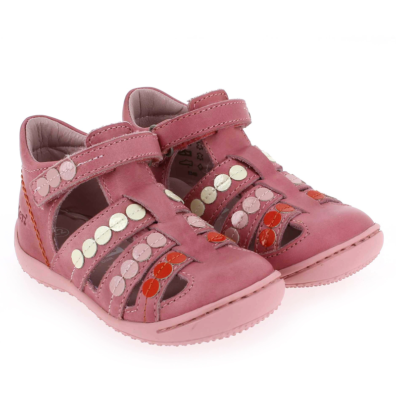 Chaussure Kickers GIFT Rose couleur Rose - vue 6