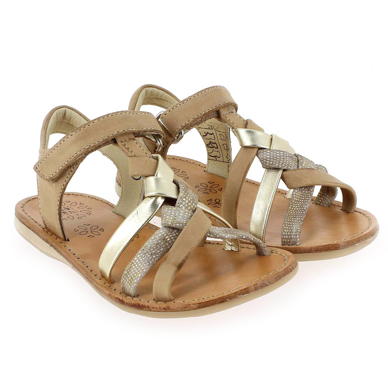 Chaussure Noel STRASS Camel couleur Camel Or - vue 6