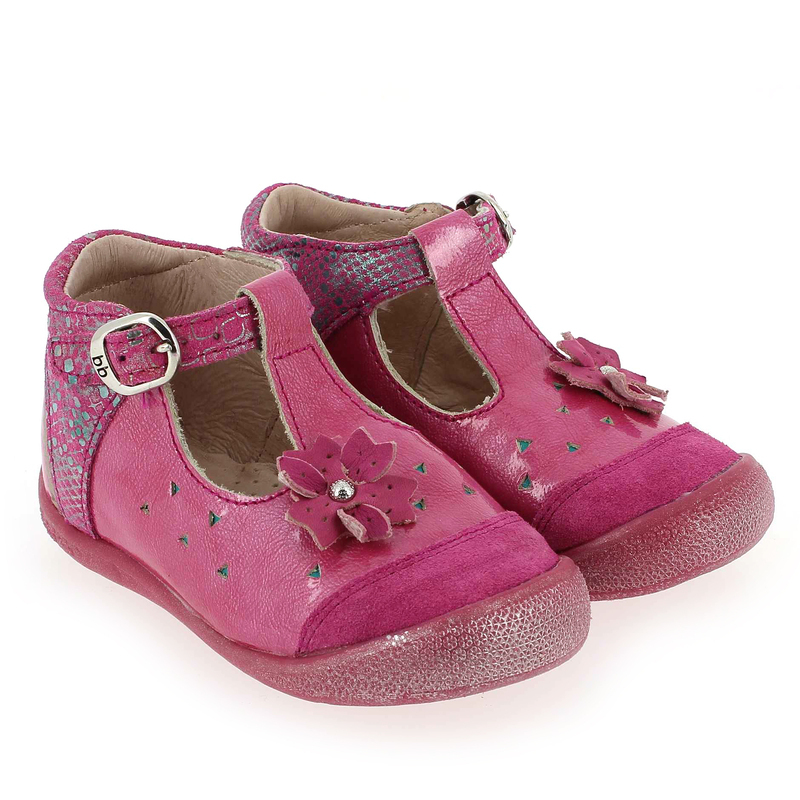 Chaussure Babybotte SING Rose couleur Fuchsia - vue 0