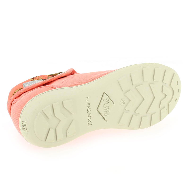 Chaussure PLDM by Palladium LETTY Orange couleur Corail - vue 5