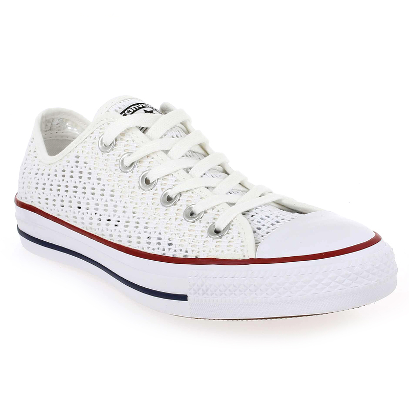chaussure converse all star ox crochet 49667 pour femme jef chaussures. Black Bedroom Furniture Sets. Home Design Ideas