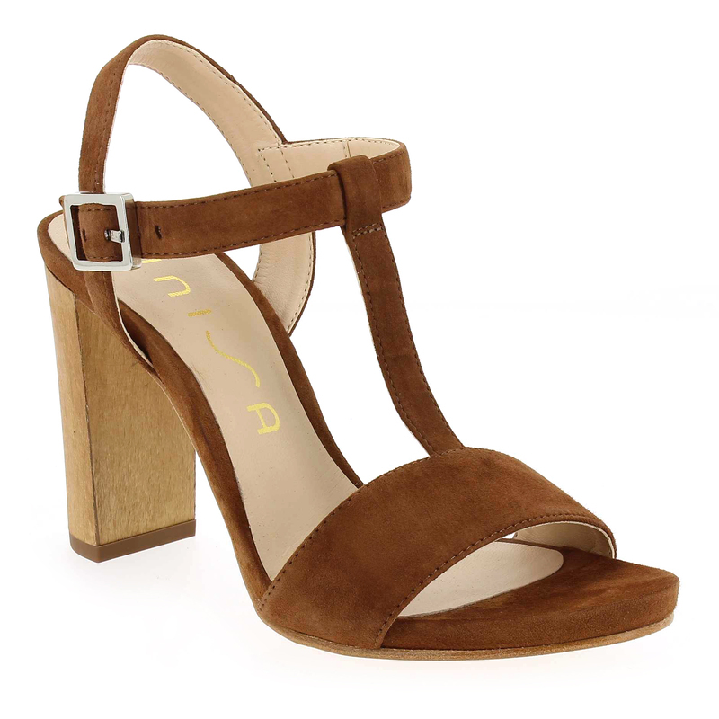 Chaussure Unisa YESAL Camel 4970401 pour Femme