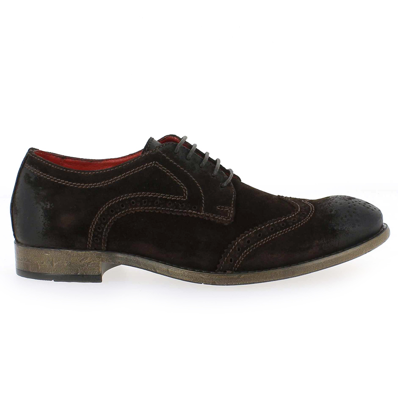 Chaussure Base London CONISTON marron couleur Marron - vue 1