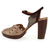 Chaussure Chie Mihara modèle ALOHA, Violet Taupe - vue 2