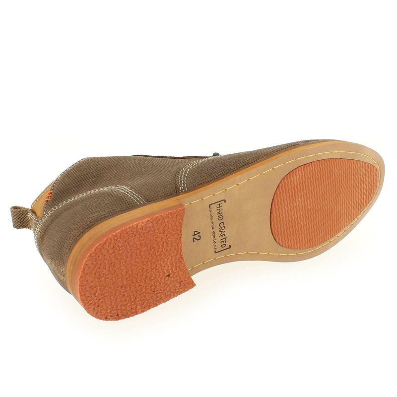Chaussure Bullboxer 733 K5 5625A Marron couleur Taupe  - vue 5