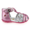 Chaussure GBB modèle ISEE, Fuchsia Argent - vue 1