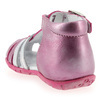 Chaussure GBB modèle ISEE, Fuchsia Argent - vue 3