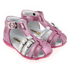 Chaussure GBB modèle ISEE, Fuchsia Argent - vue 6