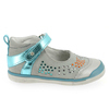 Chaussure Babybotte modèle STRASSY, Gris Turquoise - vue 1