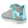 Chaussure Babybotte modèle STRASSY, Gris Turquoise - vue 3