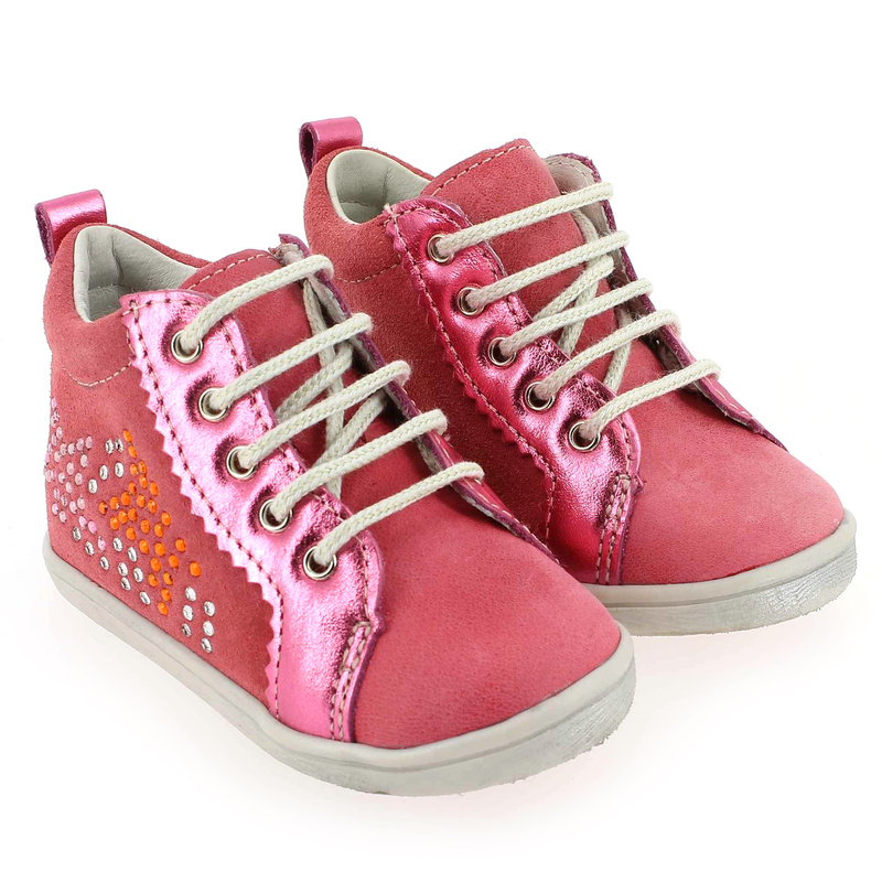Chaussure Babybotte FINCY Rose couleur Rose - vue 8