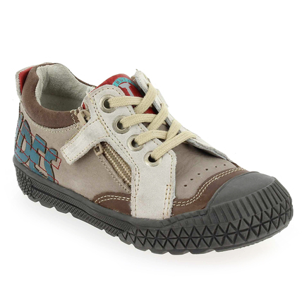 Chaussure Babybotte modèle KART, Taupe  - vue 0