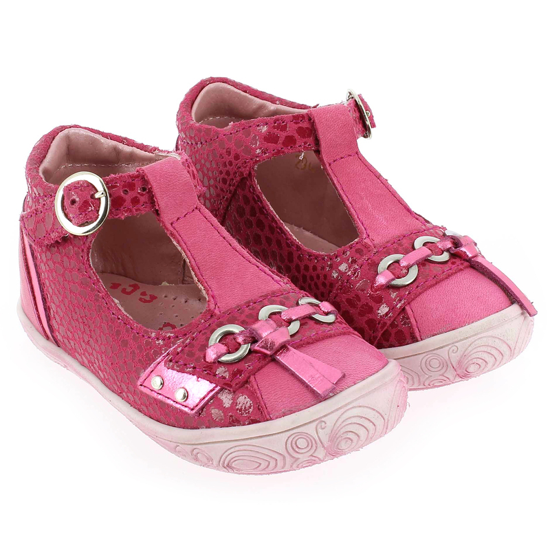 Chaussure Babybotte SHOUETTE Rose couleur Fuchsia - vue 0