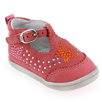 Chaussure Babybotte modèle PINKY, Corail - vue 0